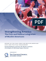 American Muslim Civic & Political Integration