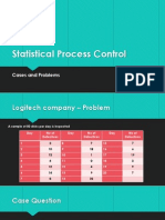 Statistical Process Control Cases and Problems