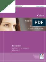 Guide_Gestion Prévisionnelle Emplois Compétences Qualifications