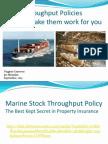 3. Stock Throughput Policies