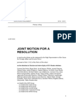 Joint Motion For a Resolution Ukraine 17.09.2014.pdf