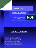 Amnoitic Fluid