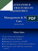 Femur Fractures in Children - Case Presentation
