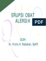Dms146 Slide Erupsi Obat Alergik