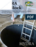 Hydra Bio Blocks for Grease Trap Bacteria Treatment