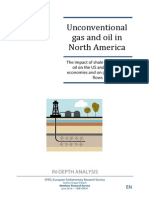 Unconventional Gas and Oil in North America