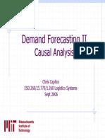 Lect Demand Forecasting