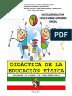 Modulo Didactica de La Educación Física 2014 2