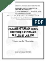 Polycopie de TD LGE604-2012-BF