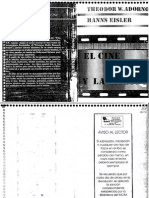 Adorno, Theodor - El cine y la música