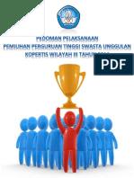 Buku Pedoman Seleksi PTS Unggulan 2014
