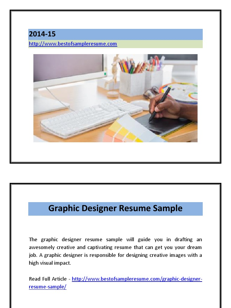 graphic designer resume sample pdf rsum graphic design - Graphic Design Resume Samples Pdf