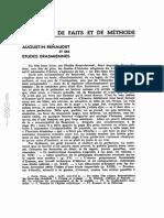 Augustin Renaudet Et Ses Études Érasmiennes- Lucien Febvre