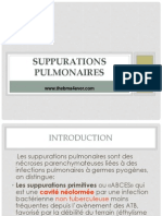 SUPPURATIONS PULMONAIRES.ppt