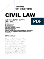BAR Questions and Answer From 1990 to 2006