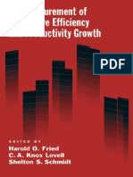 0195183525 - Oxford University - The Measurement of Productive Efficiency and Productivity Change