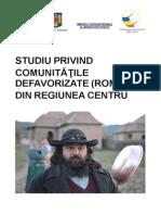 Studiu Regional Comunitati Defavorizate - Romi