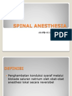 Spinal Anesthesia r2