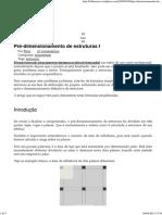 (Pré-dimensionamento de Estruturas I _ Folhaazero)