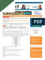 Www Aulafacil Com Cursos l14752 Idiomas Frances Frances-A1 Introduccion
