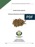 Estudio Técnico Agrícola. Productos alimenticios derivados del cáñamo