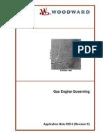 Wood Ward Gas Engine Governing