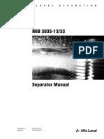 MIB303 Separator Manual