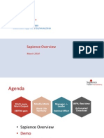 Sapience Overview 9.18 - Apr 2014