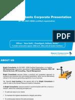 Bright Consultants Corporate Presentation