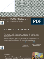 Aprendizagem e Desenvolvimento Intelectual Na Idade Escolar (2)