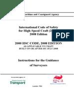 High-Speed Craft (HSC) Code, 2008 Edition
