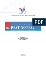 PEST NOTES 2008 Final Full v1.33