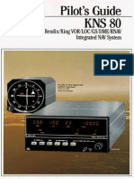 Bendix King KNS80 Manual