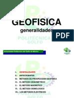 GEOFISICA Generalidades (I)
