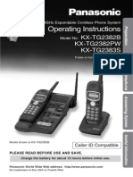 Manual Kxtg2383s