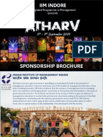 4503_Atharv 2014 Sponsorship Brochure, IPM, IIM Indore