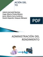 ADMINISTRACIÓN DEL RENDIMIENTO.pptx