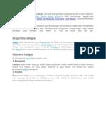 Pengertian Dan Fungsi Antigen Antibodi