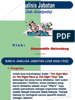 data . Analisis Jabatan Job Description 1