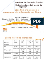 Oportunidad Comerciales con China