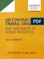 Séminaire Bastiat - C. Beigbeder - Un contrat de travail unique