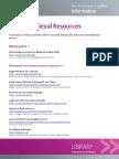 Online Medieval Resources