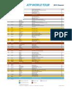 ATP World Tour Calendar 2015 273