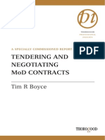 Tim Boyce-Tendering and Negotiating MOD Contracts (Thorogood Professional Insights) (2002)