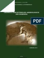 Cronica Cercetarilor Arheologice