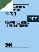 Crna Gora u XXI Stoljecu - u Eri Kompetitivnosti-cover
