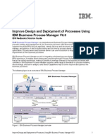 Improve Design and Deployment IBM BPM 8