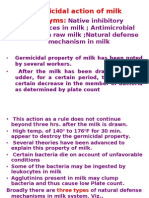 Germicidal Action of Milk