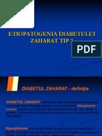 59668471 Etiopatogenia Diabetului Zaharat Tip 2