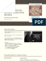 """7 Habits of Highly Effective People"" Summary"
